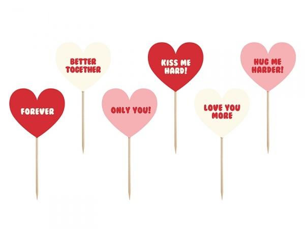 6b1d8cffb51 Valentýnská zapichovátka Sweet love - Ptákoviny