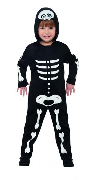 Kostým pro děti Skeleton v overalu - Ptákoviny ae212f01341