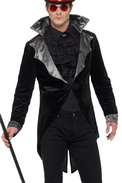 cd6d316cb Úvod > Karnevalové kostýmy > Upíří kostýmy > Pánský gothic kabátek