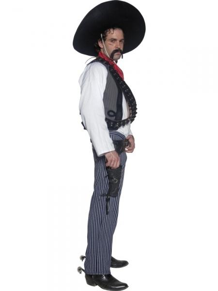 7c3eb24a6 Luxusní kostým Mexičana se hodí na pistolnické párty ve stylu divokého  západu i na různé karnevaly.