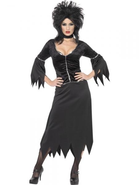 Kostým Vampírka   čarodejnice - Ptákoviny 9477ddc7556