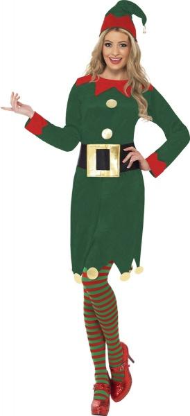 48ba777d7 Kostým pro krásné elfky je vhodný na kostýmovou nebo Vánoční párty.