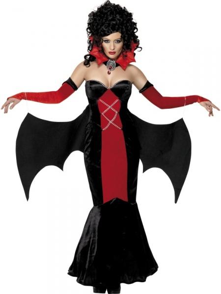 Kostým Gotická Vampírka - Ptákoviny 8a17b4ad1b8