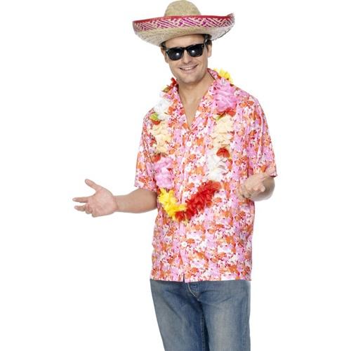 Havajská košile - květy - Ptákoviny 7cd4811f30